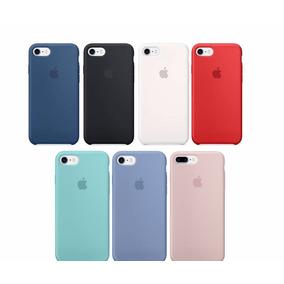 Funda Apple Iphone 7 8 Y 7p 8 Plus Silicon Case Envió Dhl