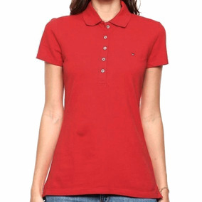 Playera Polo New Flag Mujer Tommy Hilfiger To031