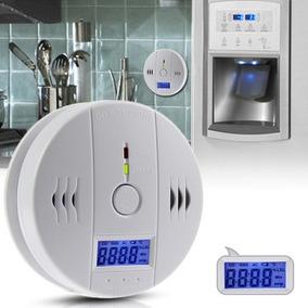 Detector De Monoxido Carbano Autonomo Lcd Digital Alarma