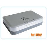 Grandstream Ht502 - Voipeador - 2 Telefonos + 100 Minutos