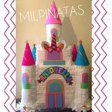 Piñatas De Castillo. Piñata De Unicornio,frozen,princesas