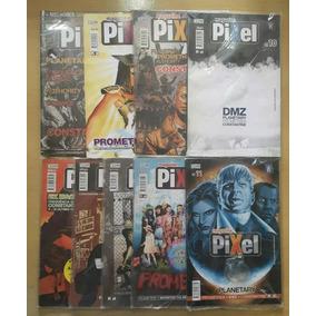 Lote 9 Gibis Pixel Magazine