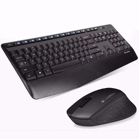 Kit Teclado Y Mouse Inalambrico Logitech Mk345 Wireless