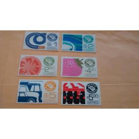 Timbre Postal Mexicano Exporta Año 1972 Nuevos