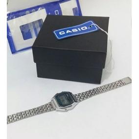 Relógio Aço Cassio Prata + Caixa - Produto Novo - Envio Já!
