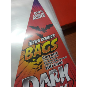 Combo 100 Board + 100 Bags Comics Darkbox