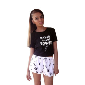 Remera Bowie Tipo Complot Ay Not Dead