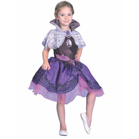 Disfraz Ever After High Raven Violeta Talle 0
