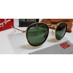 Ray Ban Round Dobravel Verde - Óculos no Mercado Livre Brasil 798e3838f8