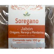 Jabón De Oregano, Naranja Y Mandarina 100gr