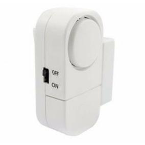 6alarmes Sensor Magnético S Fio Porta E Janela Promoção