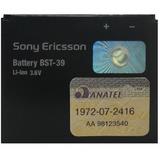 Bateria Sony Ericsson Bst-39,w380, W380 A, W380i