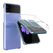 Funda Anticaidas Protector Rigido Clear Galaxy Z Flip3