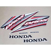 Kit Adesivos Honda Nxr 125 Bros Ks 2005 Branca