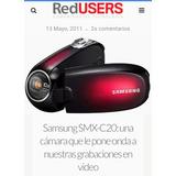 Samsung Smx-c20m Filmadora