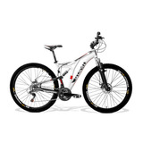 Bike Aro 29 Gts M1 New Full 24v Shimano Suspensão Trava