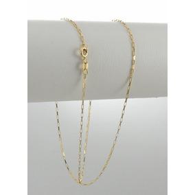 Gargantilha Cartier Ouro 18k 45cm - Feminina Corrente Cordão