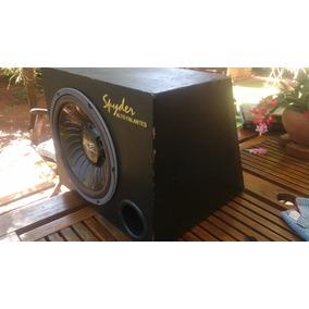 Caixa Selada Com Auto-falante Falcon Fs 600d 12