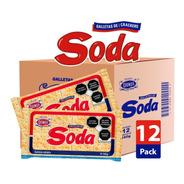 Soda Caja 12/160g - Galletas Dondé