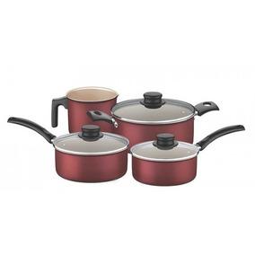 Set Bateria Tramontina De Cocina Ollas Turim 4 Piezas Nuevo
