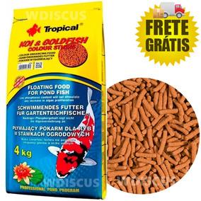 Tropical Koi & Colour Sticks 4kg - Ração Carpas Kinguios Koi