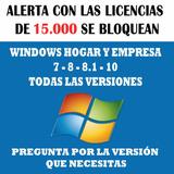 Windows 10 Pro Licencia Hogar - Empresa, Vitalicia. 1 Pc.