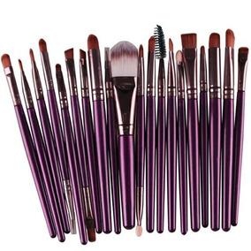 Pincel Para Maquiagem Kit Com 20 Unidades A Pronta Entrega