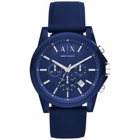 2bded49da52f Reloj Ck Azulado Armani Blanco - Relojes en Mercado Libre México