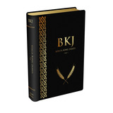 Bíblia King James Fiel 1611 - Preta Bkj Fiel 1611 Lançamento