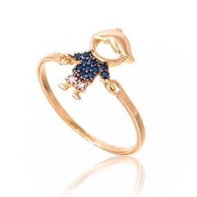9b61295326866 Pingente Safira - Anéis com o melhor preço no Mercado Livre Brasil