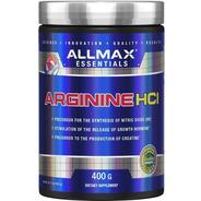 Arginina Hcl Allmax 400 G Precursor Oxido Nitrico Y Creatina
