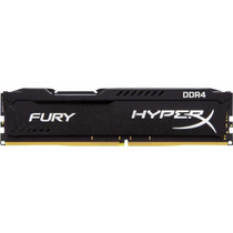 Memória Kingston 8gb Ddr4 2400mhz Hyperx Fury Gamer
