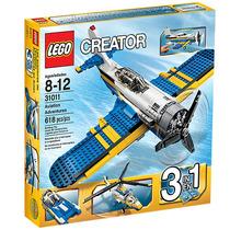 Lego Creator 31011 Aventuras En Avión 3 En 1 618 Pz