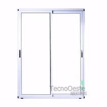 Ventana Aluminio Modena Dvh Doble Vidrio 4/9/4 100x150 Cm