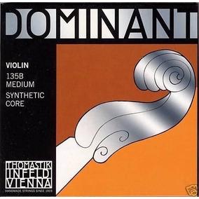 Conjunto Completo Para Violino Thomastik Dominant
