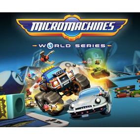 Micro Machines Worlds Series Ps4 Midia Fisica Pre Venda