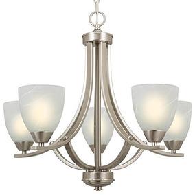 Revel Weston - Lámpara De Araña De 22 \de 5 Luces, Níquel C