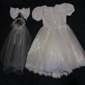 Vestido Primera Comunión Blanco