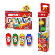 Pintura Dactilar Y Crayones Krayonitos Para Los Más Pequeños