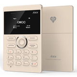 Mini Celular Aiek Ultra-fino Micro Cartão Sim Bluetooth Gsm