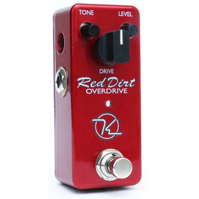 Mini Red Dirt Keeley Não É Ibanez Boss Strymon Fender