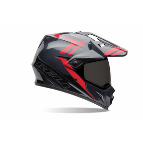 Capacete Bell Mx-9 Adventure - Barricade Red