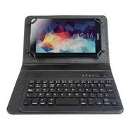 Estuche Funda Con Teclado Eco Cuero  Tablet 10 Pulgadas Ramos Mejia