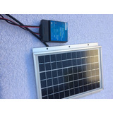 Panel Solar 5 Watt + Comprado En Usa Controller Charge 7 Amp