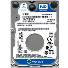 Disco Rigido 500gb 2.5 Sata Wd Blue Notebook Netbook Ps3
