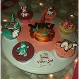 Toppers En Fondant Decoracion Para Cupcakes, Ponquesitos.
