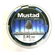 Nylon De Pesca Mustad Thor 0,70mm X 100 Metros