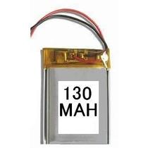 Bateria Para Mp3, Mp4, Mp5, Gps 130 Mah 3cm X 1,cm X 0,3cm