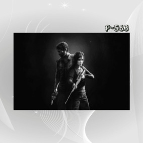 Poster Filme Seriado Game The Xcs Last Of Us Decor Casa Sala
