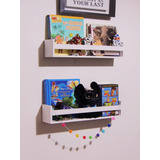 Repisa Estante Para Libro Infantiles, Especiero, Toallero